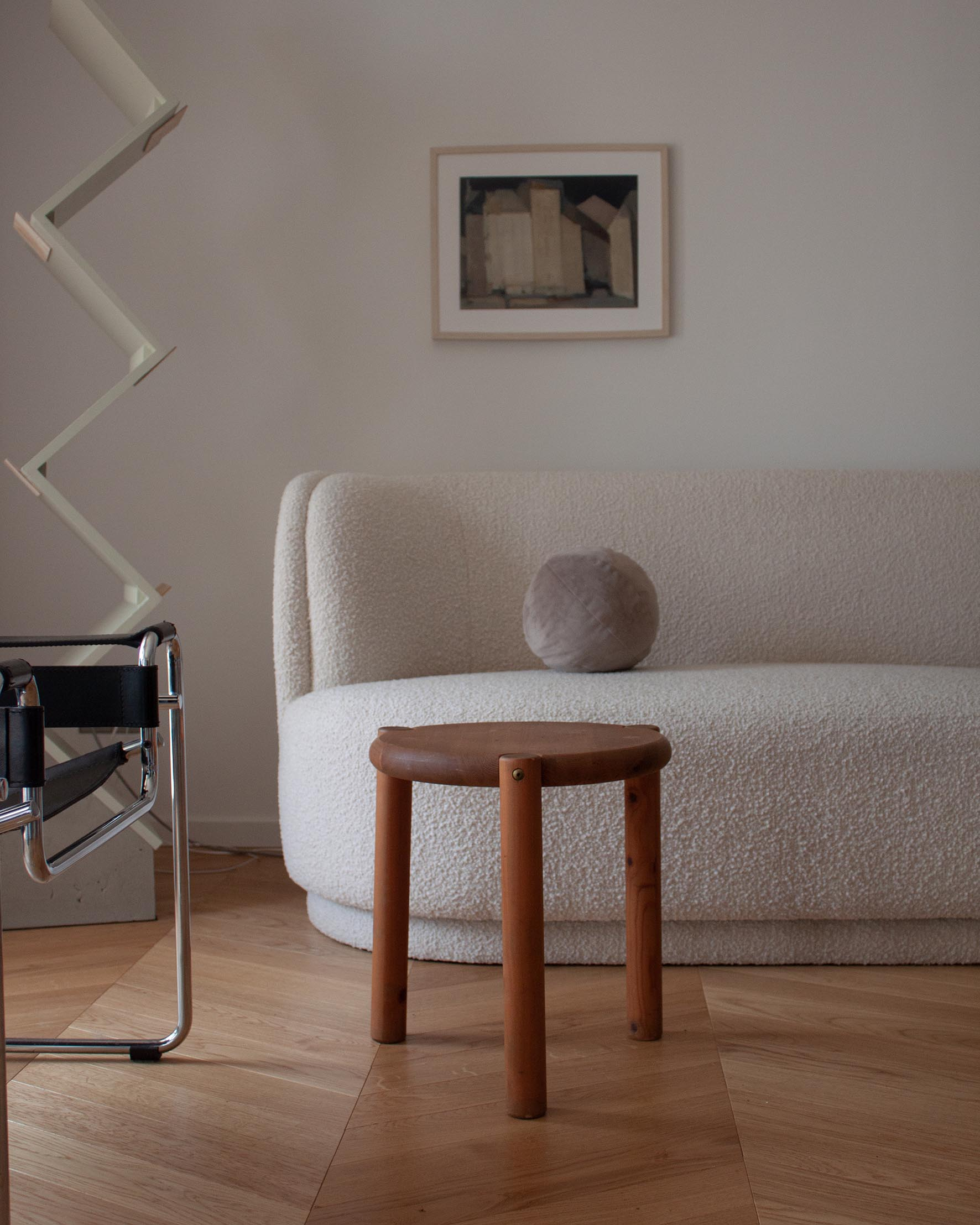 ZWEI finds gallery rainer saumiller pine Table or stool_0000_Rainer Daumiller Side table pine